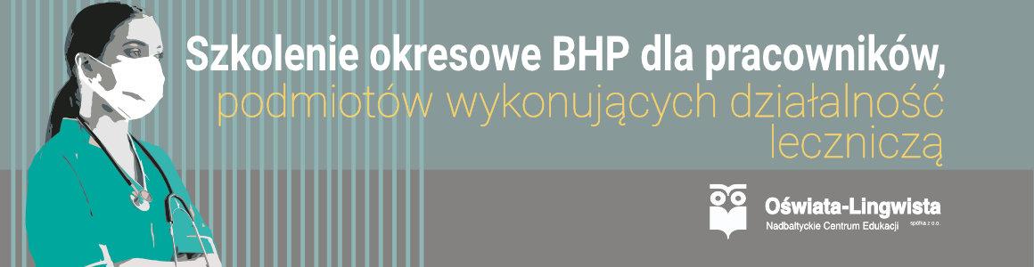 Szkolenie BHP dla pracowników służby zdrowia